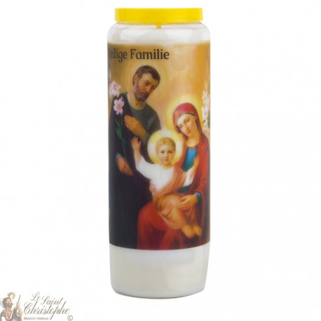 Candles Novenas to the Holy Family -  german  Prayer - 2