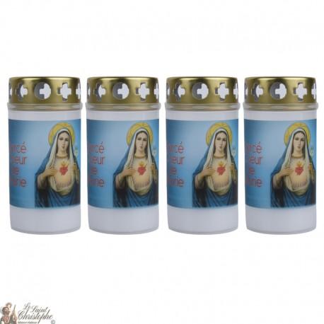 Bougies d'extérieur au Sacré Coeur de Marie - couvercle