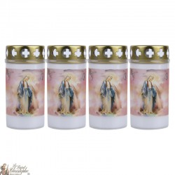 Outdoor Candles with Miraculous Virgin - cover
