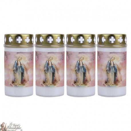 Bougies d'extérieur au Saint Michel - couvercle