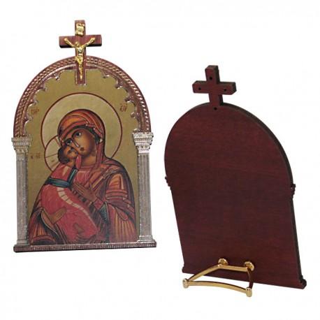 Cadre vierge marie à l'enfant- icone