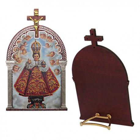 Cadre Jésus de Prague avec croix