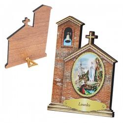 Cadre Apparion de Lourdes - Eglise