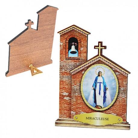 Cornice della Vergine Miracolosa - Chiesa