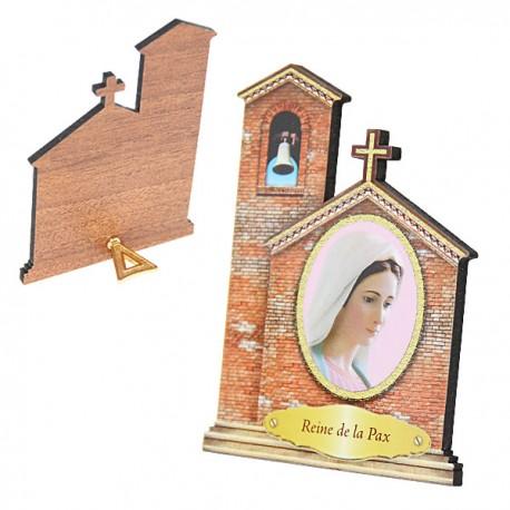 Cornice della Vergine di Medjugorje - Chiesa