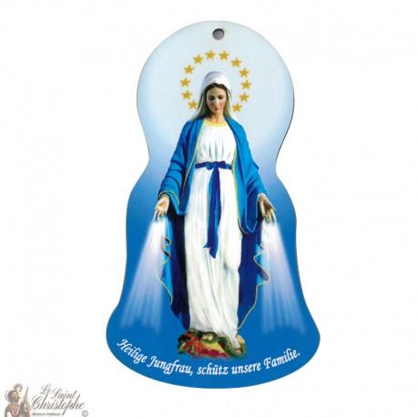 Wall plate - Miraculous Virgin