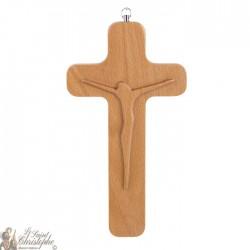 Croix bois avec le Christ