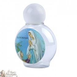 Bouteille avec image ND de Lourdes 40 ml - plastique