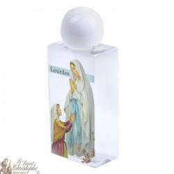 Bouteille avec image ND de Lourdes 50 ml - plastique
