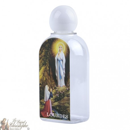 Bottle with image Lourdes 75 ml - plastic