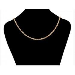 Chaine plaqué or 18 K - 50 cm