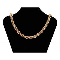 Chaine plaqué or 18 K - 80 cm