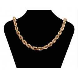 Gold plated 18 K chain - 80 cm