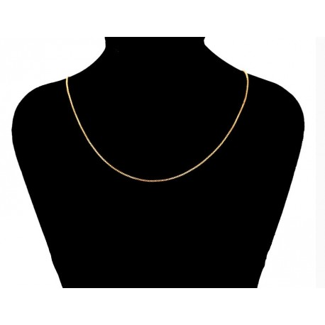 Gold plated 18 K chain - 50 cm