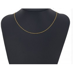 Gold plated 24 K chain - 45 cm