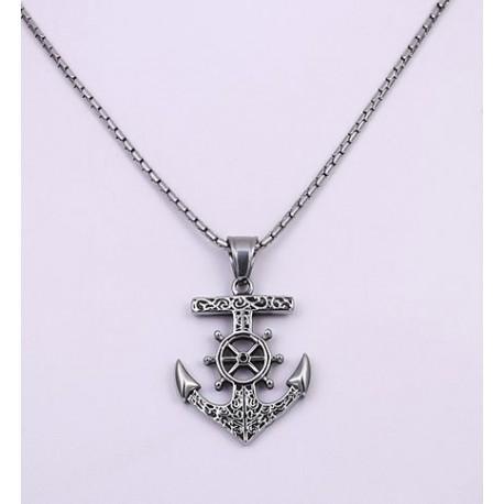 Pendentif Croix Stylisée - Argent 925