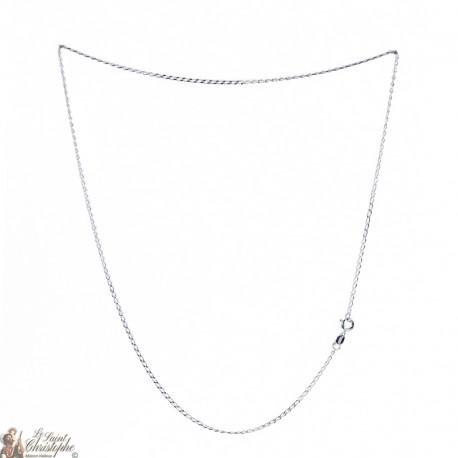 Chaîne argent 925 - 50 cm