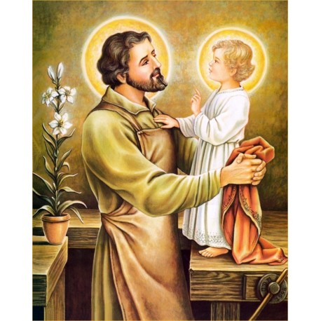 Sticker - Saint Joseph - 10 X 13 cm
