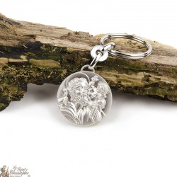 Keychains St. Christopher - Silver metal