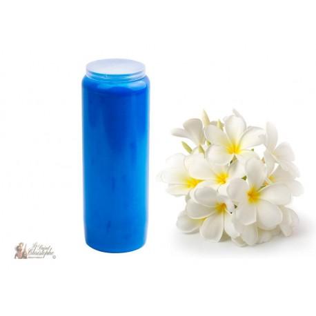 Bougies de Neuvaine - Bleues - parfum Jasmin