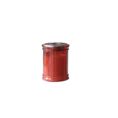 Bougie rouge votive - 8 ,5 cm