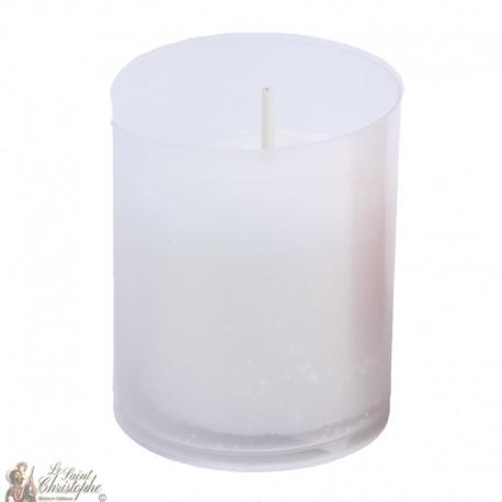 Kerzen Nachtlichter - Weiss