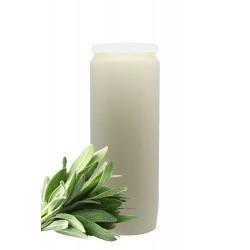 Candle of Novena perfume sage customizable