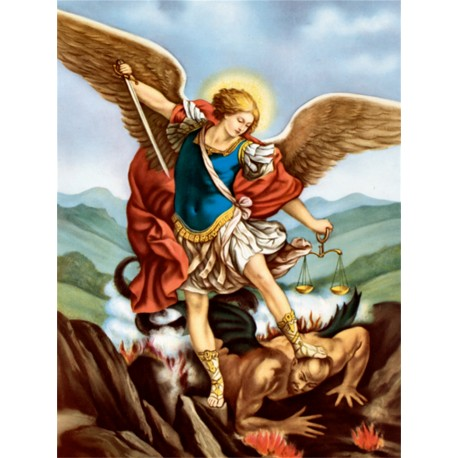Poster of Saint Michael Archangel