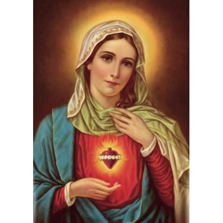 Poster Sacré cœur de Marie