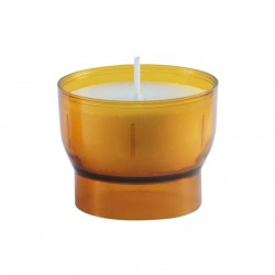 Yellow votive nightlights - 4 / 5 hours
