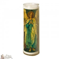 Candle 7 days in glass Holy Gabriel