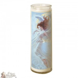 Candle 7 days in glass Angel