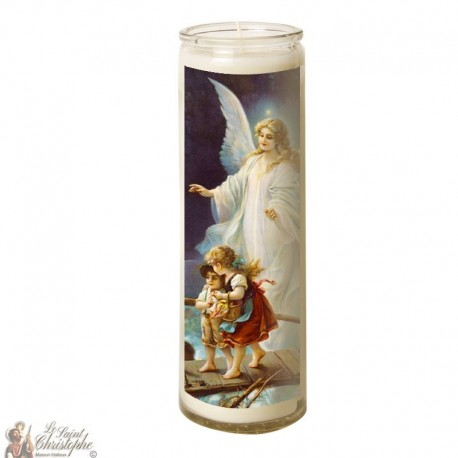 Candle 7 days in glass Guardian Angel