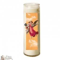 Candle 7 days in glass Vintage Angel