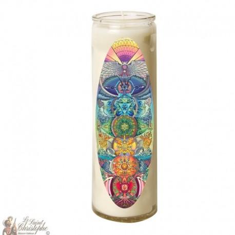 Zen Buddha glass candle 7 days