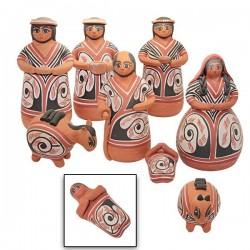 "Pre-Columbian"" Venezuelan Christmas Crib"