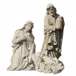 Holy Family Crib - Characters 3 pieces