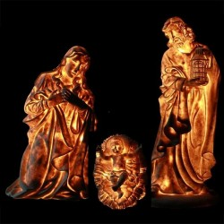 Holy Family Crib - Bright Characters