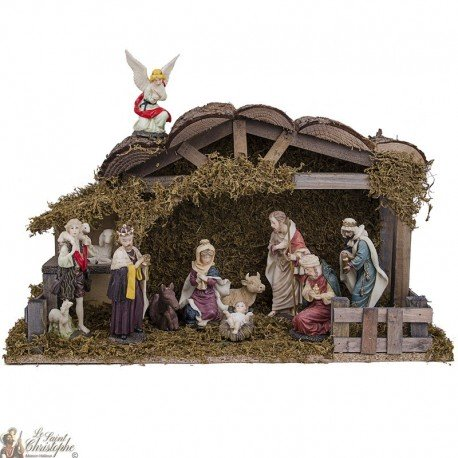 Christmas crib complete with 11 characters