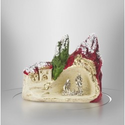 Christmas crib village - 7,5 cm