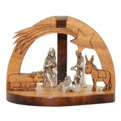Olive wood crib