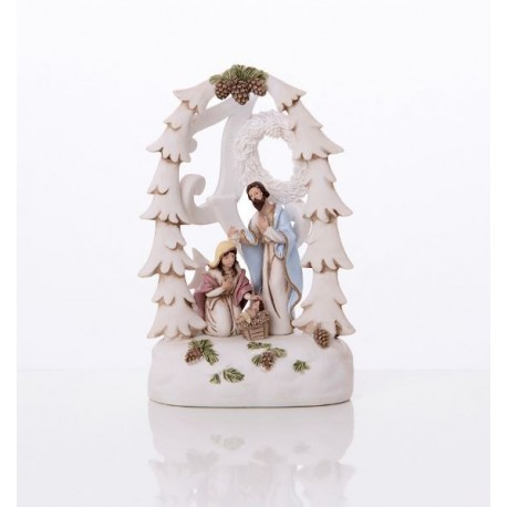 Resin Christmas crib