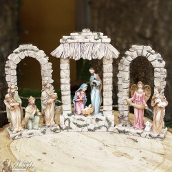 Triptych Christmas Crib
