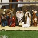 Resin Christmas crib - 11 pieces