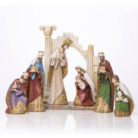 Resin Christmas crib