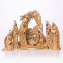 Christmas crib - resin