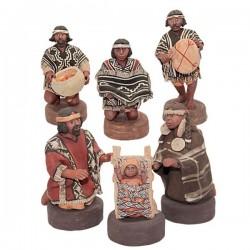 Argentine Christmas Crib - Mapuche