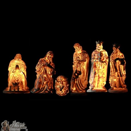 Bright Christmas Crib - Characters 6 pieces