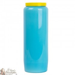 Novena Candles - Light Blue