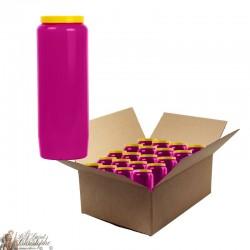 Candles Novena - Purple